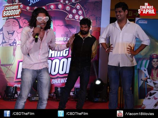 Guests Perform At Chashme Baddoor Music Launch