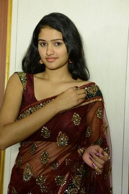Koushalya Latest Hot Photos In Saree At Aa Iddaru Audio Launch