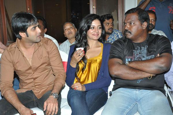 Tarun And Vimala Attend The Chukkalanti Ammayi Chakkanaina Abbai Press Meet