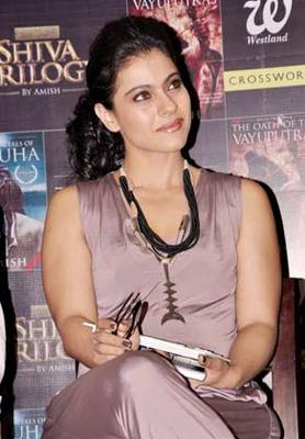 Kajol Looked Gorgeous At The Launch Of The Oath Of The Vayuputras Book