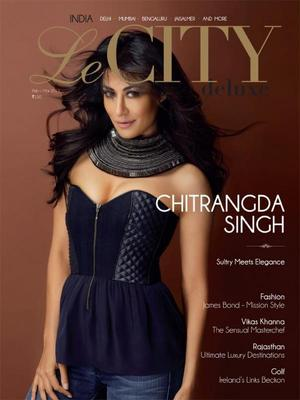 Chitrangada Singh Hot Look On The Cover Of Le CITY Deluxe Magazine March 2013