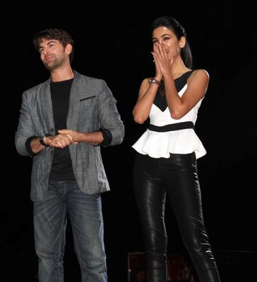 Neil Nitin Mukesh And Sonal Chauhan At 3G Film Promotion