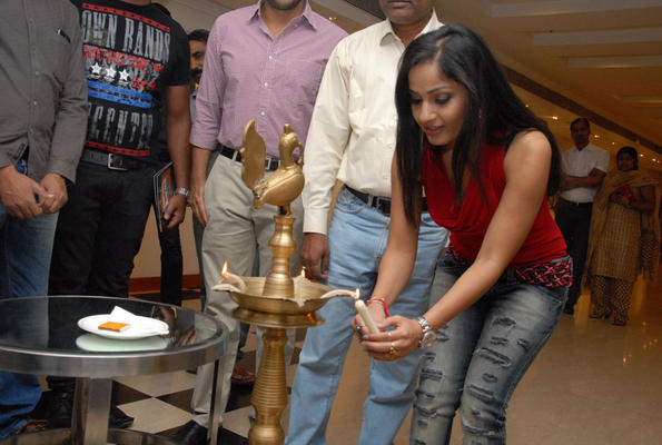 Madhavi Latha Lights The Candle At Tribal Beauty Art Exhibition Launch Event