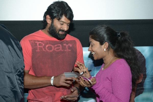 Prabhas Meet In USA NJ Multiplex Cinemas Photos