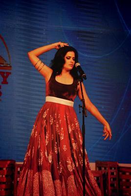 Sona Mohapatra At The Best City Awards In Delhi