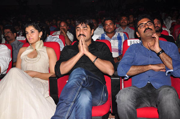 Taapsee,Srikanth And Gopi Photo Clicked At Shadow Movie Audio Release Function