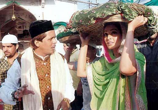 Actress Bipasha Basu At Ajmer Sharif Dargah