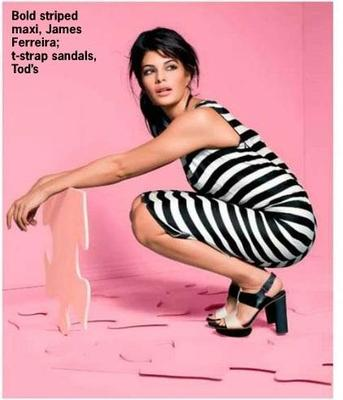Jacqueline Fernandez Nice Look Photo Shoot For Cosmopolitan India March 2013