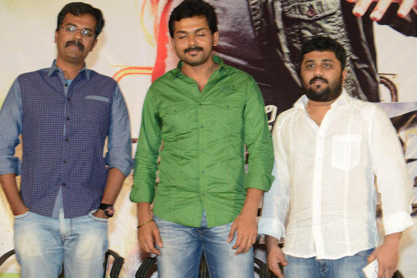Karthi And Gnanavelraja At Bad Boy Press Meet