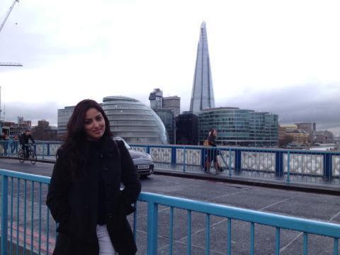 Yami Gautam At London For Shooting Of Aman Ki Aasha