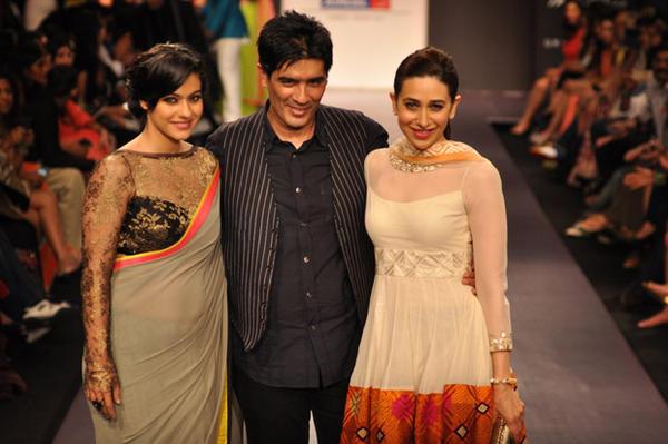 Celebs At Manish Malhotra Show At Lakme Fashion Week 2013 Day 1
