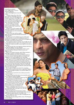 Shahrukh Khan Graced In Pulse Of Oman Magazine February 2013 Issue