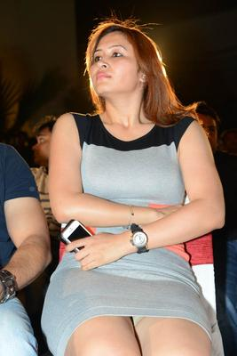 Jwala Gutta Hot Stiils At Gunde Jaari Gallanthayyinde Audio Release Function