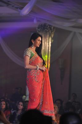 Celebs At Neeta Lulla Shehnai Collection Fashion Show Event 2013
