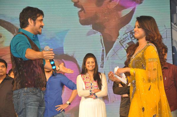 Udaya Bhanu At Greeku Veerudu Movie Audio Launch Function