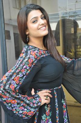 Tashu Kaushik Strikes A Pose At Gola Seenu Movie Press Meet Function