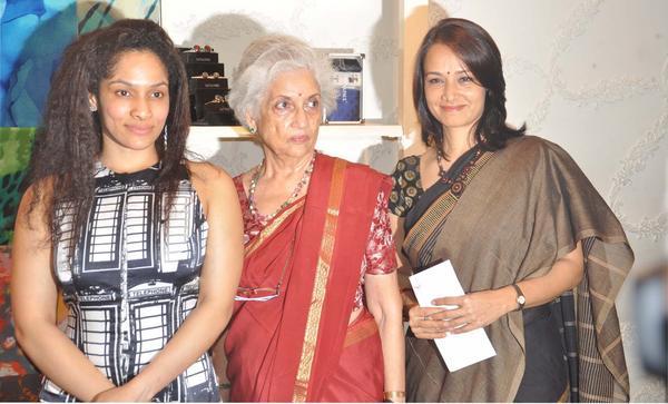Amala Akkineni At Satya Paul Hyderabad