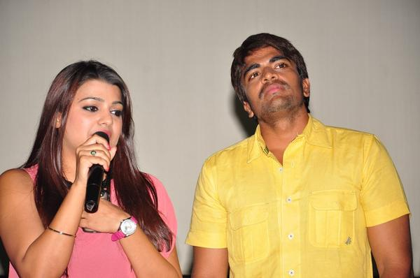 Srinivas And Tashu Present At Gola Seenu Press Meet