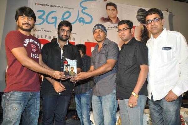 Nara And Venkatapathy Make An Appearance At 3G Love 25 Days Celebrations Press Meet