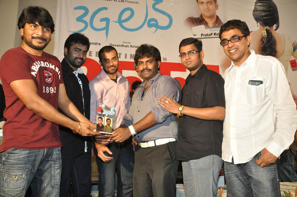 Nara And Venkatapathy Posed For Camera At 3G Love 25 Days Celebrations Press Meet