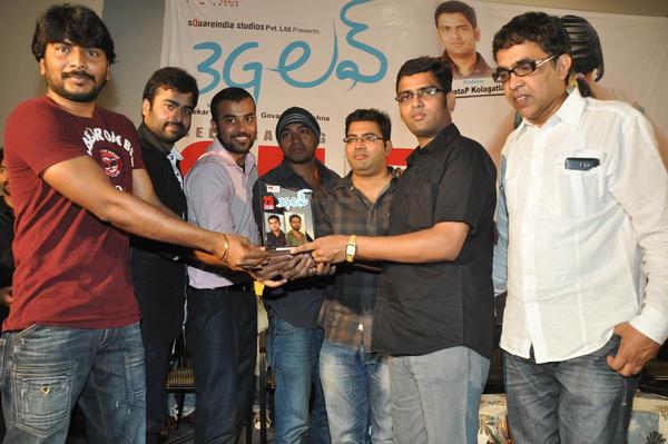 Nara And Venkatapathy With Team Present At 3G Love 25 Days Celebrations Press Meet