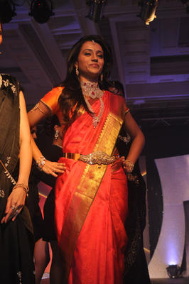 Actress Trisha At NAC Jewellers Fashion Show Photos