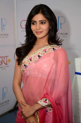 Samantha Ruth Prabhu Shops At GRT Jewellers