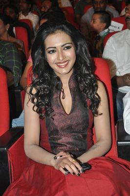 Catherine Tresa At Iddarammayilatho Audio Launch Function