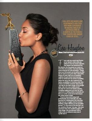 Lisa Haydon Kissing The Awards Look Photo Shoot For Femina May 2013