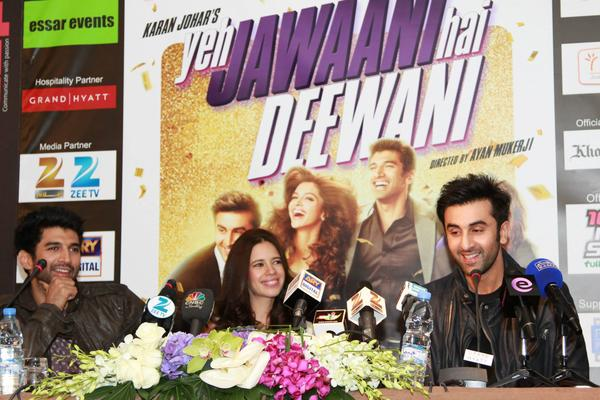 YJHD Team Promote Their Upcoming Movie YJHD At Dubai