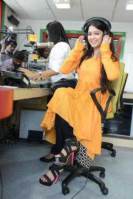 Charmy Kaur Nice Cool Pose At Prema Oka Maikam Movie Promotions Event