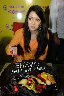 Charmi Kaur Nice Cute Look At Prema Oka Maikam Movie Promotions Event
