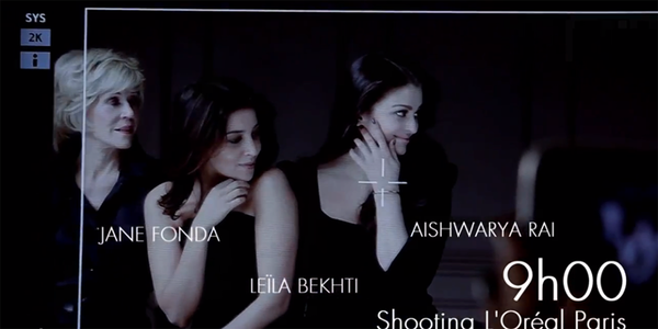 Aishwarya Shoot For LOreal's L'Or Sunset Ad At Cannes 2013 Collection