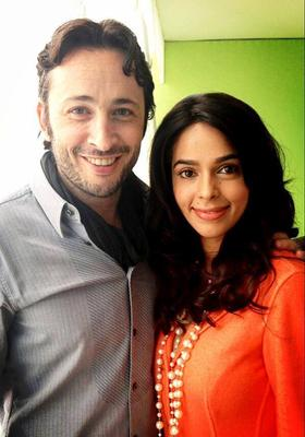 Mallika Sherawat Photo Shoot With French Actor Michael Cohen At The 66th Cannes Film Festival