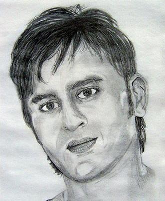 Bollywood Actors Sketch Painting Photos