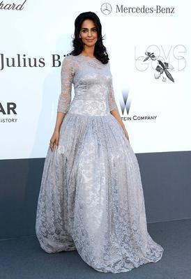Mallika Sherawat Attends The AmfAR Gala At Cannes