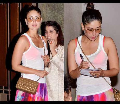 Kareena And Other Celebs Spotted At Kunal Khemu Birthday Bash