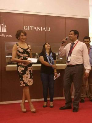 Bipasha Basu At Gitanjali Jewellery Launch Event In Dubai Mall