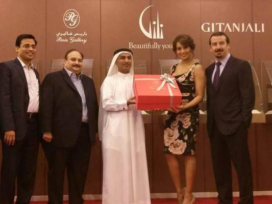 Bipasha Basu Launches Gitanjali Jewellery In Dubai Mall