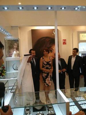 Bipasha Basu Spotted At Dubai Mall For Gili Jewellery Launch