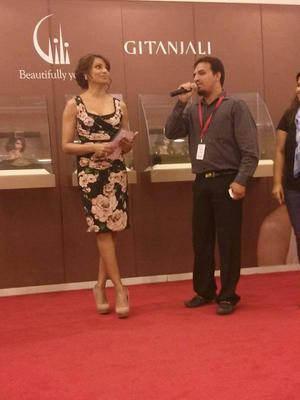 Pretty Bipasha Basu Still At Dubai Mall For Gili Jewellery Launch
