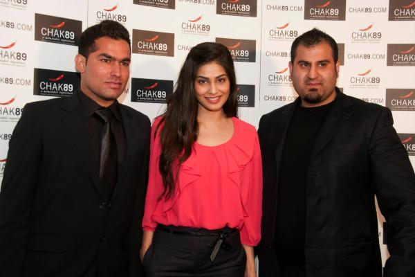 Hot Ameesha and Puja Gupta Promote Shortcut Romeo In London