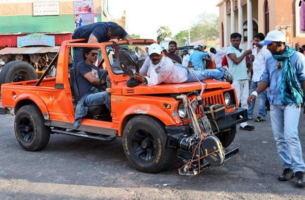 Exclusive Stills From Sets Of Chennai Express