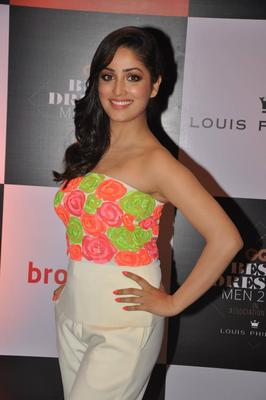 Yami Gautam In Namrata Joshipura At GQ Best Dressed Party 2013