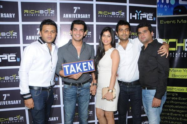Sushant Singh Rajput And Others At Richboyz Bash