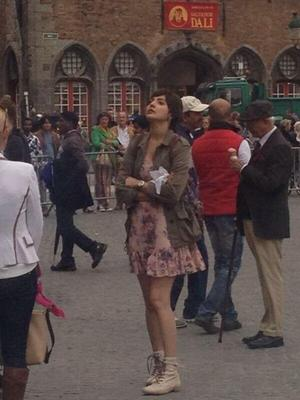 Anushka And Sushant Singh Shoot For Peekay In Bruges