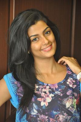 Anisha Ambrose Cool And Nice Pic At Areyrey Telugu Movie Press Meet
