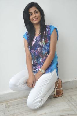 Pretty Anisha Ambrose During Pressmeet Of Areyrey