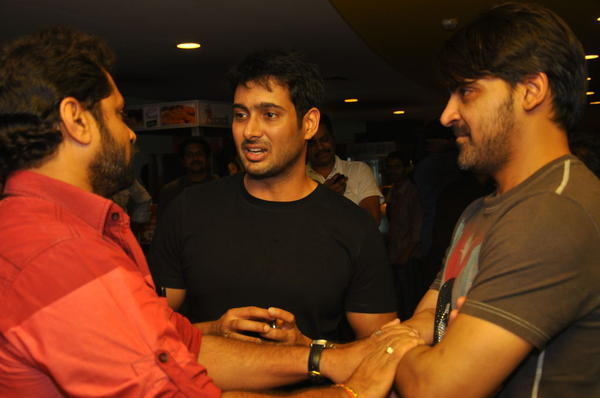 Celebs At Action D Movie Premiere Show
