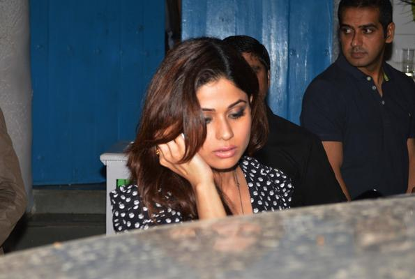 Bollywood Stars Attend Party At Olive In Mumbai